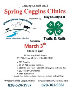 Cover photo for 2018 Spring Coggins Clinic