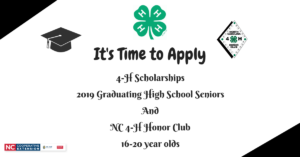 Cover photo for It's Time to Apply for 4-H Scholarship and Honor Club