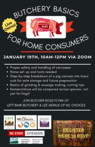 Cover photo for Butchery Basics for Home Consumers