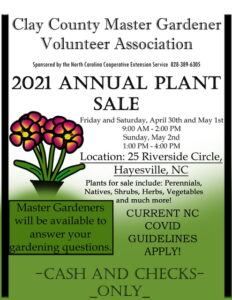 Cover photo for Master Gardener Volunteer 2021 Annual Plant Sale